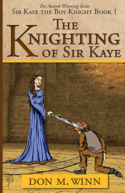 Click on this cover of Sir Kaye the Boy Knight Book 1: The Knighting of Sir Kaye to download a classroom lesson plan.